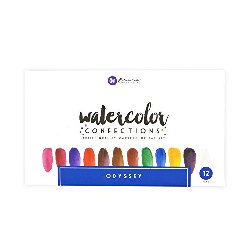 Prima Marketing Confections Odyssey Watercolor Collection -
