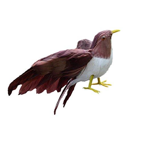non-brand Baoblaze Lindo Pequeño Pájaro Emplumado Artificial de Colores Decoración de Árbol de Navidad Centros de Mesa de...