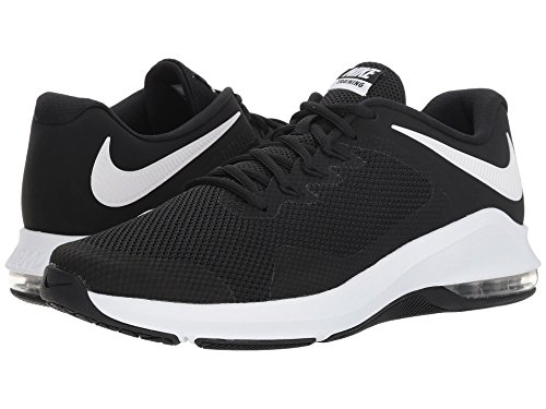[NIKE(ナイキ)] メンズランニングシューズ?スニーカー?靴 Air Max Alpha Trainer Black/White 8.5 (26.5cm) D - Medium