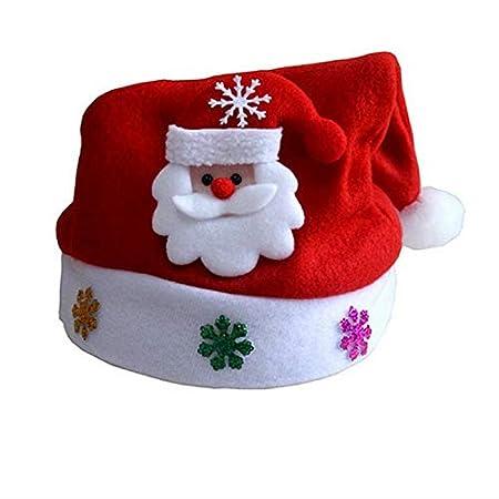 taifuhegc - Gorros de Navidad para niños, decoración de Navidad ...