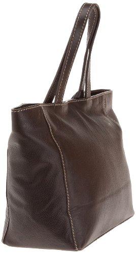 Loxwood Ramita PM Jaïpur - Bolsa de la compra de cuero mujer marrón - Marron (Coffee)