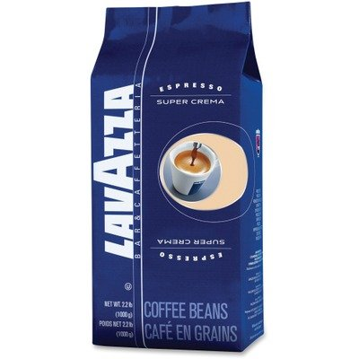 LAV4202 - Lavazza Super Crema Whole Bean Espresso Coffee by Lavazza