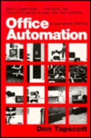 Office Automation : A User-Driven Method (Applications)