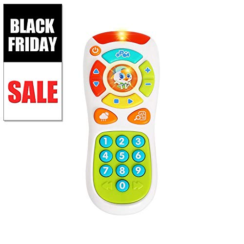 VATOS Baby Remote Control Toy Learning Lights Remote for Baby 6 Months + Click& Count Remote Toys for One Year Old Boy Girl Baby Infant Toddler Toy
