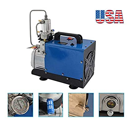 110V 30MPa Electric Air Compressor Pump High Pressure Auto Shutdown YONG HENG