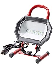 AmazonCommercial 1000LM LED Work Light 120V 15W 5000K Daylight 50,000H UL