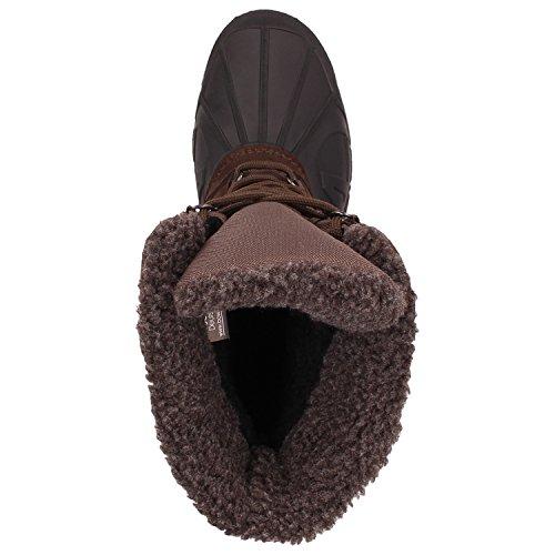 Archi Susi Stivali Invernali Donne Stivali Da Neve Neve Stivali Scarpe Invernali Fodera In Calda Impermeabile Impermeabile Brown