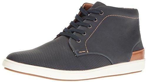 Steve Madden Men's Fractal Fashion Sneaker, Navy, 8.5 M US