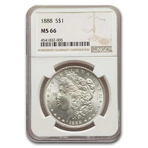 1888 Morgan Dollar MS-66 NGC $1 MS-66 NGC