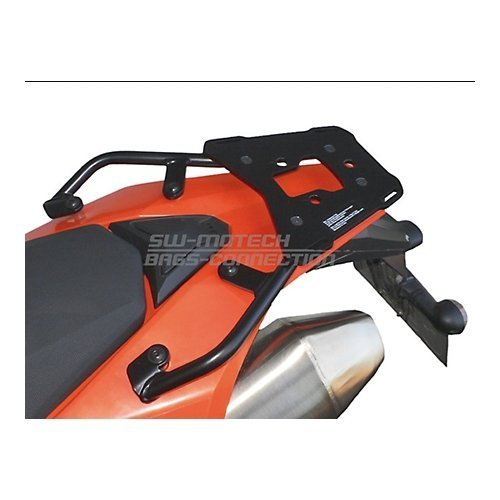 SW-MOTECH Alu-Rack Top Rack To Fit Many Top Case Styles for KTM 690 Enduro '07-'18 ()