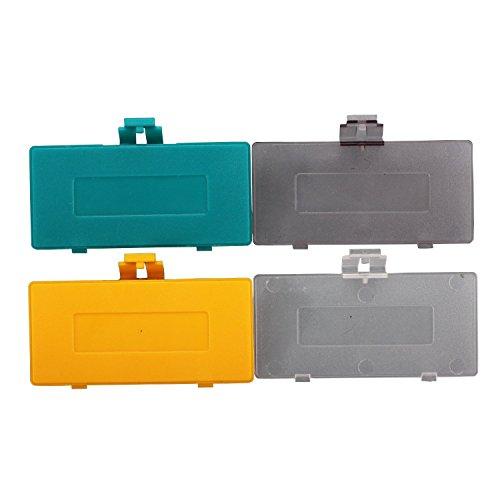 eJiasu GBP tapa de batería para la caja de puerta de la batería para Nintendo Game Boy de bolsillo (multicolor-30 pieza) multicolor-10 pieza