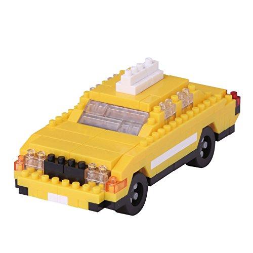 Nanoblock New York Taxi Building - Style Taxi