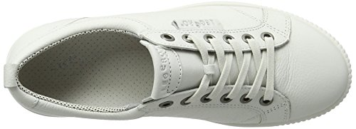 White Weiß Legero Tanaro Women's 50 White 4 Trainers UK UWfOS