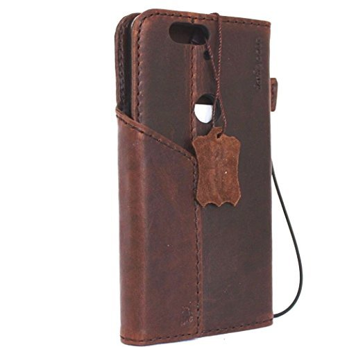 Genuine Vintage Leather Huawei Handmade product image