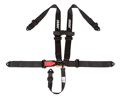 5-Point Off-Road Harness, 3 x 3 Latch and Link Without Pads, 1 Pack - Grant 2110