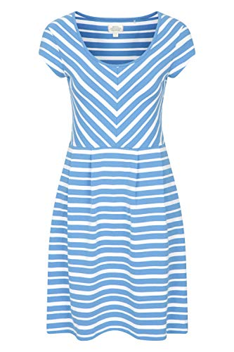 Mountain Warehouse Womens A Line Stripe Dress – Lightweight Ladies Summer Dress, Breathable, UV Protection – Best for…