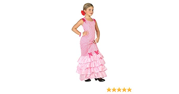 Atosa-39391 Disfraz Flamenca, Color Rosa, 5 A 6 Años (39391 ...