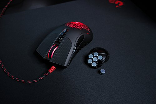 Bloody AL90 Laser Gaming Mouse with Light Strike (LK) Optical Switch & Scroll for Fastest Response - 8 Programmable Buttons and Advanced Macros – 8200 DPI by BLOODY (Image #5)
