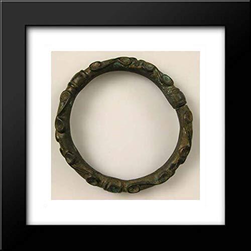 - Celtic Culture - 15x15 Framed Museum Art Print- Bracelet with Spiral Designs