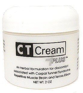 Tunnel Syndrome Pain Relief Cream - Ct Cream Plus Carpal Tunnel Cream for Pain Relief - Carpal Tunnel Syndrome , Arthritis, Tendonitis, Buristis 2 Oz