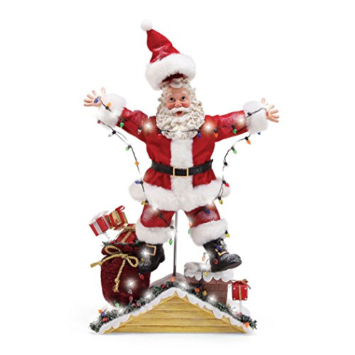 (Department 56 National Lampoon Christmas Vacation Santa Figurine, Multicolor)