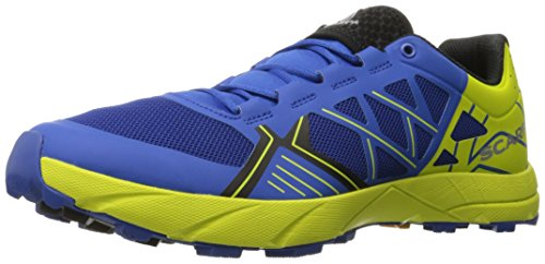 Scarpa Men's Spin Running Shoe Trail Runner, Turkish Sea/Spring Green, 44 EU/10.5 M US