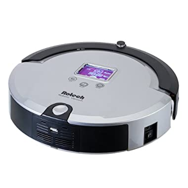Rotech Rv02 4-in-1 Series Robotic Vacuum Cleaner with Remote Control, Silver