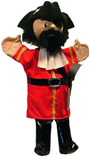 Au Sycomore - MA35031 - Marionnette à Main 35 cm - Capitaine Pirate