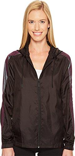 PUMA Women's T7 Windrunner Iridescent PUMA Black Outerwear Ladies Blaze Mesh Jacket