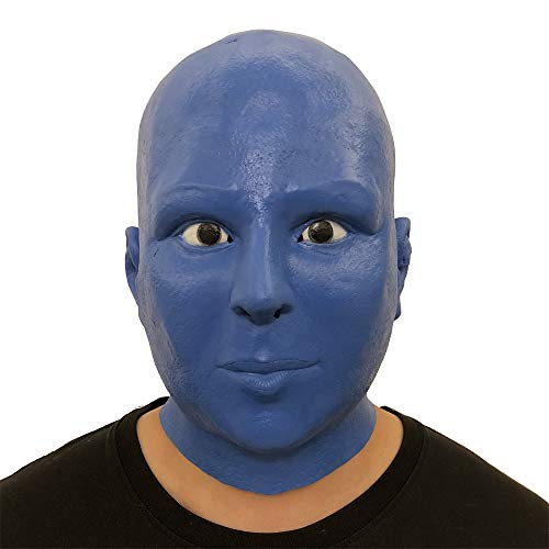 CMrtew 2018 New Christmas 3D Horror Mask Sound Activated Full Face Christmas Party Mask The Sound Reactive Led Mask (C, Free) -