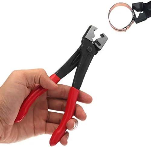 Hvlystory Clicr-R Type Clamp Plier Hose Clip Plier Collar Clamp Swivel Tool