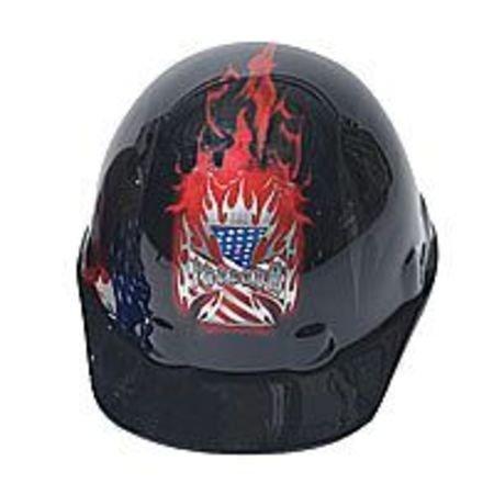8Rtcht FrtBrim Hard Hat BurningFreedom