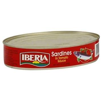 Iberia Sardines In Tomato Sauce , 15 oz., Sardinas en Salsa de Tomate (