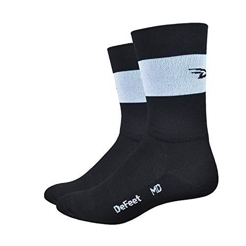 DeFeet Aireator Team Double Cuff Socks, Black, Large