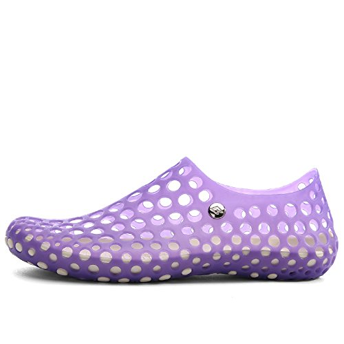 Pairlers Women's Pull-On Water Shoes 666-Purple OvEDSTR7
