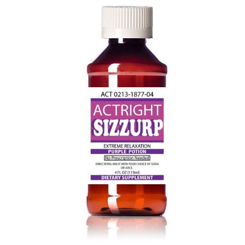 Actright Syrup (4oz) Purple Relaxation Syrup