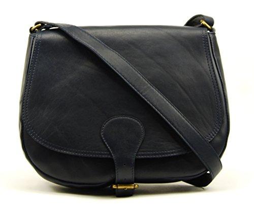 OH MY BAG VINTAGE - Bolso al hombro de Ante para mujer Azul - azul oscuro