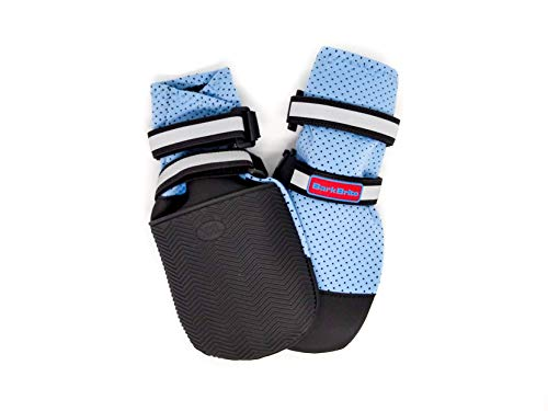 Bark Brite New Lightweight Neoprene Paw Protector Dog Boots Designed for Comfort and Breathability in 5 Sizes (XXL)