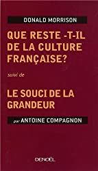 Que reste-t-il de la culture française ? (French Edition)