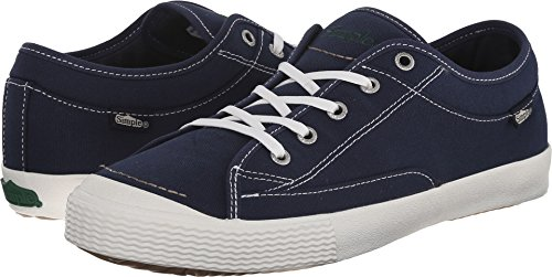 Navy Canvas Sneakers (Simple Men's Wingman Fashion Sneaker, Navy Canvas, 11 M US)