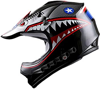 Amazon.com: WOW - Casco de motocross para niños BMX MX ATV ...