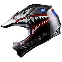 $47 » WOW Youth Kids Motocross BMX MX ATV Dirt Bike Helmet Shark Black