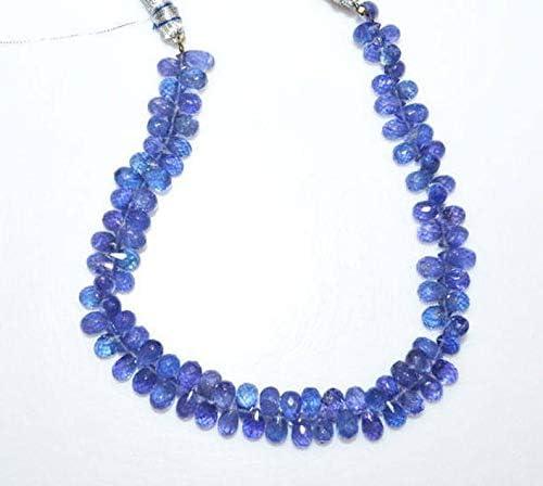 Tanzanite Necklace Tanzanite gemstone necklace Tanzanite briolette Necklace