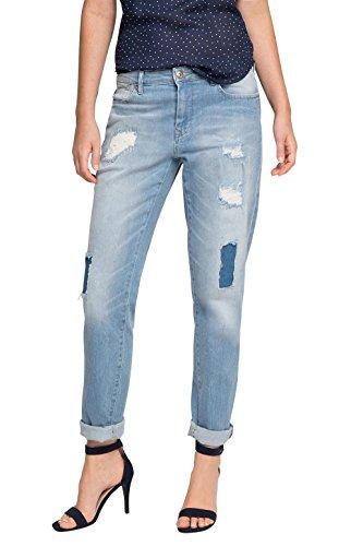 edc by ESPRIT 076cc1b029, Jeans Mujer Azul (Blue Light Wash)