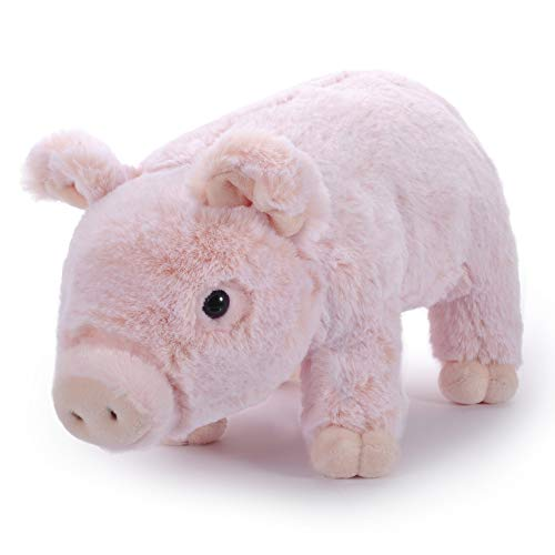 """ealistic Stuffed Animal Toys Lovely Gifts Kids Soft Fluffy Piglet Doll Pink 6"""" ()"""