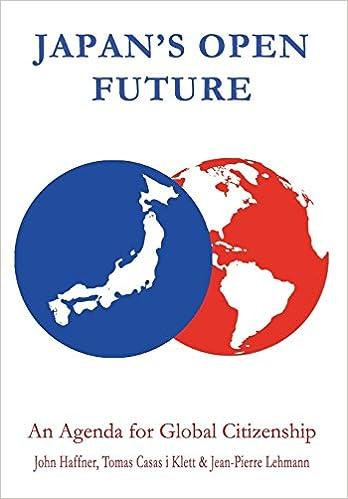 Japans Open Future: An Agenda for Global Citizenship Anthem ...