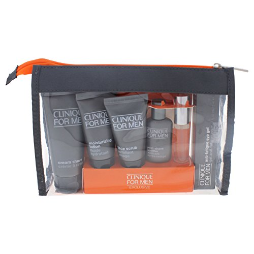 Clinique Well-Traveled Well-Groomed 7 Piece Set for Men -