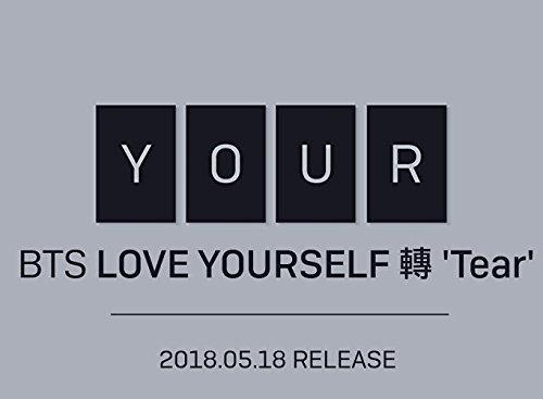 BTS–Love yourself 承 [Her] [Sobre] + álbum de fotos + tarjeta de fotos + póster plegado + regalo, z3. LOVE YOURSELF...