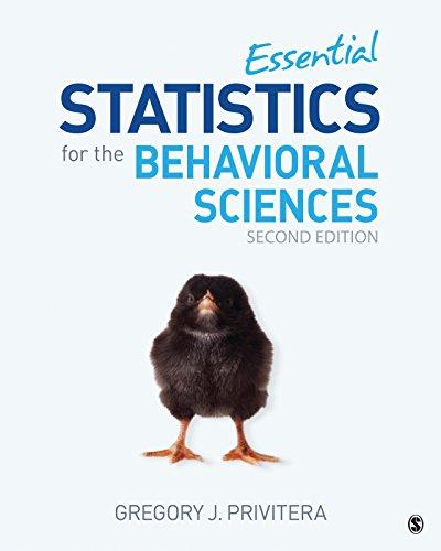 - Essential Statistics for the Behavioral Sciences