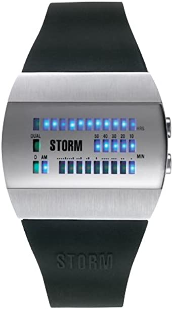 Storm 4566MR Montre Homme Quartz LED Bracelet